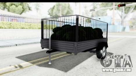Volkswagen T4 Trailer pour GTA San Andreas