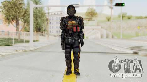 CoD Advanced Warfare KVA Heavy Soldier für GTA San Andreas zweiten Screenshot