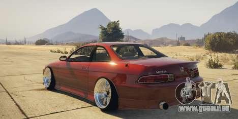 Lexus SC300 pour GTA 5