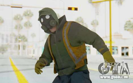 The Division Cleaners - Shield pour GTA San Andreas