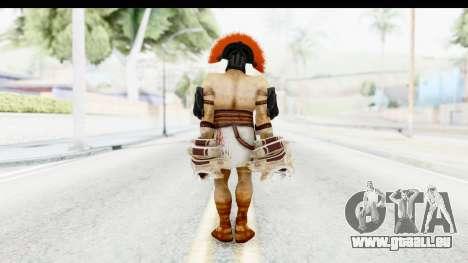God of War 3 - Hercules v2 pour GTA San Andreas troisième écran