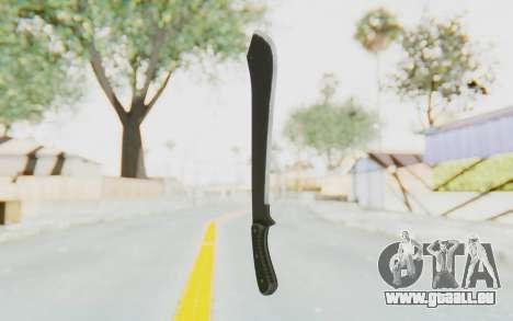 GTA 5 Vom Feuer Machete pour GTA San Andreas deuxième écran