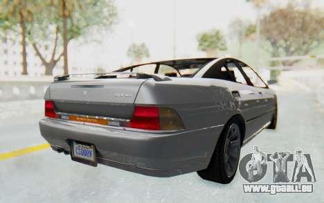 GTA 5 Imponte DF8-90 IVF pour GTA San Andreas sur la vue arrière gauche