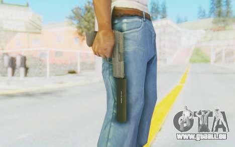 HK45 Silenced für GTA San Andreas