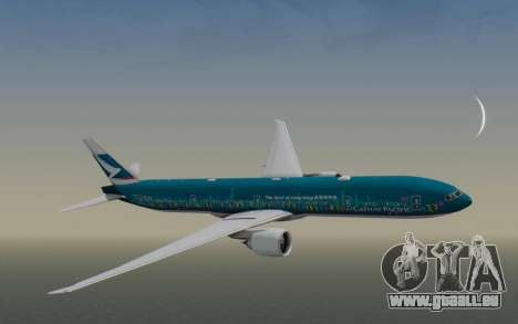 Boeing 777-300ER Cathay Pacific Airways v2 für GTA San Andreas