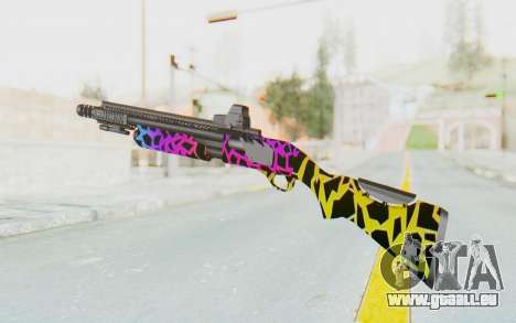 Escopeta pour GTA San Andreas troisième écran