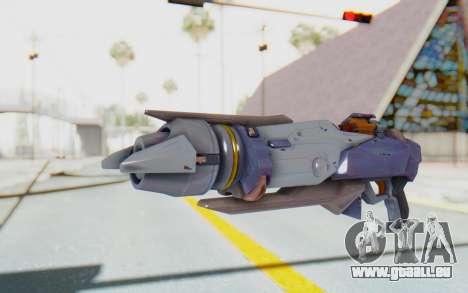 Pharah Mechaqueen Rocket für GTA San Andreas