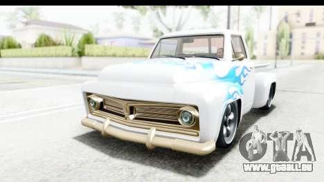 GTA 5 Vapid Slamvan Custom IVF für GTA San Andreas Seitenansicht