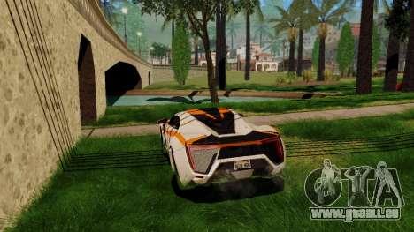 GeForce ENB pour la faiblesse du PC pour GTA San Andreas quatrième écran