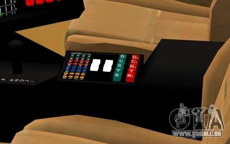 K.I.T.T. 2000 Pilot für GTA San Andreas rechten Ansicht