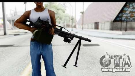 Kalashnikov PK (PKM) Iron Sights pour GTA San Andreas