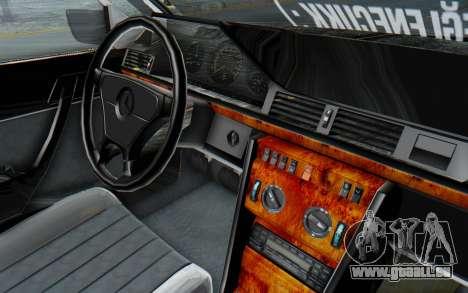 Mercedes-Benz W124 Stance Works für GTA San Andreas Innenansicht
