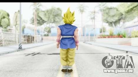 Dragon Ball Xenoverse Goku GT Adult SSJ2 pour GTA San Andreas troisième écran