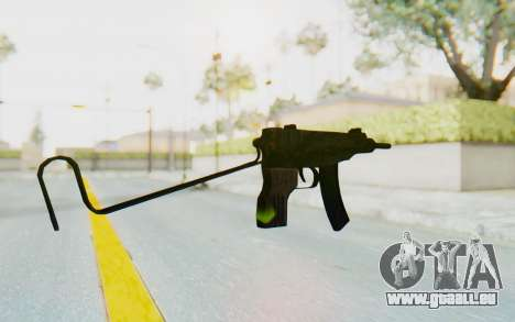 VZ-61 Skorpion Unfold Stock Tiger Stripes Camo für GTA San Andreas zweiten Screenshot