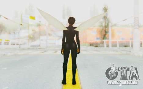 Marvel Future Fight - Wasp für GTA San Andreas dritten Screenshot