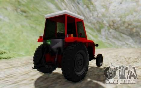 IMT 539 Deluxe pour GTA San Andreas vue de droite