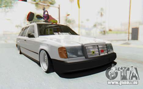 Mercedes-Benz W124 Stance Works pour GTA San Andreas