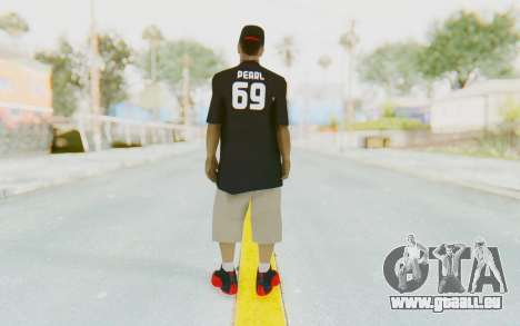 Ballas3 Skin für GTA San Andreas dritten Screenshot
