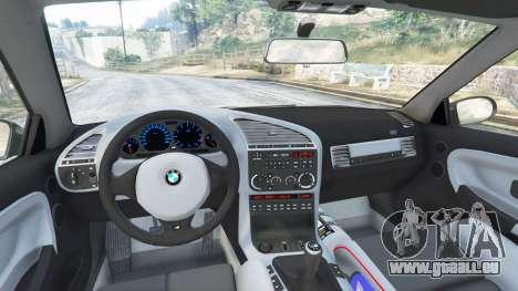 GTA 5 BMW M3 (E36) Street Custom droite vue latérale
