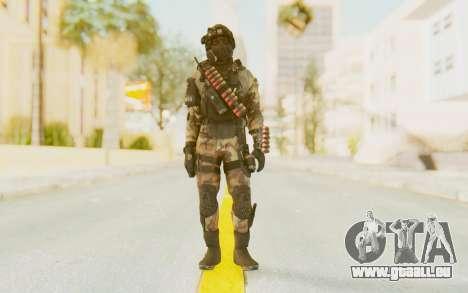 Federation Elite Shotgun Woodland-Flora für GTA San Andreas zweiten Screenshot