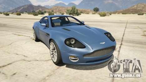 2001 Aston Martin V12 Vanquish für GTA 5