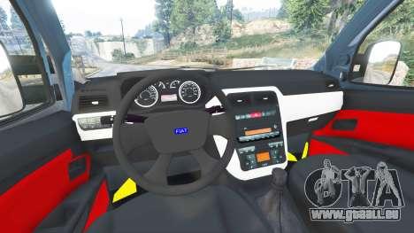 Fiat Doblo für GTA 5