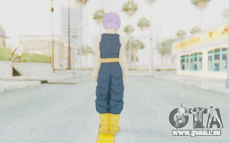 Dragon Ball Xenoverse Future Trunks Shirt für GTA San Andreas dritten Screenshot