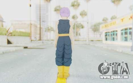 Dragon Ball Xenoverse Future Trunks Shirt für GTA San Andreas dritten Screenshot