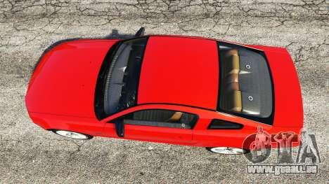 GTA 5 Ford Mustang GT 2005 Rückansicht
