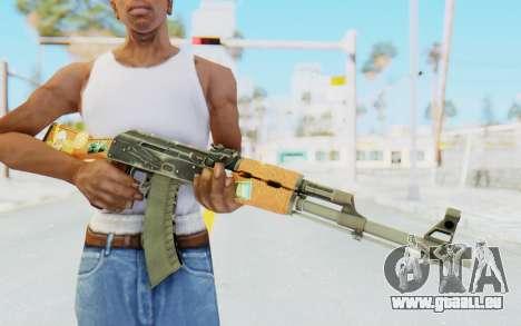 CS:GO - AK-47 Jetset für GTA San Andreas dritten Screenshot