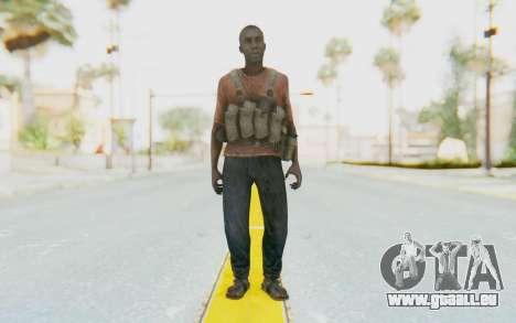 CoD MW3 Africa Militia v3 pour GTA San Andreas deuxième écran