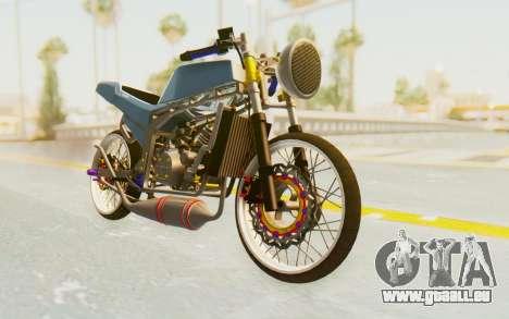 Kawasaki Ninja 150S Thailock für GTA San Andreas rechten Ansicht
