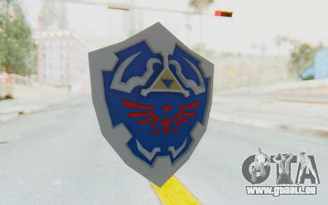 Hylian Shield from Legend of Zelda pour GTA San Andreas