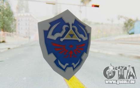 Hylian Shield from Legend of Zelda für GTA San Andreas