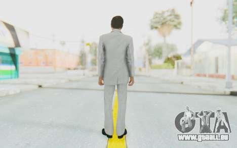 Mafia 2 - Vito Scaletta Madman Suit White für GTA San Andreas dritten Screenshot