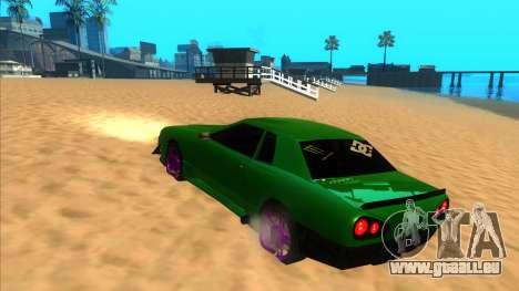 Elegy 1.3 by Mr.Phantom pour GTA San Andreas sur la vue arrière gauche