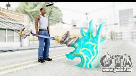 Orochi Weapon pour GTA San Andreas troisième écran