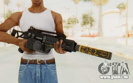 GTA 5 DLC Finance and Felony - Special Carbine für GTA San Andreas dritten Screenshot