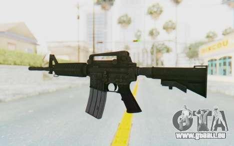 Assault M4A1 pour GTA San Andreas deuxième écran
