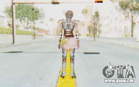 Dynasty Warriors 8: Xtreme Legends - Lu Lingqi 2 pour GTA San Andreas troisième écran