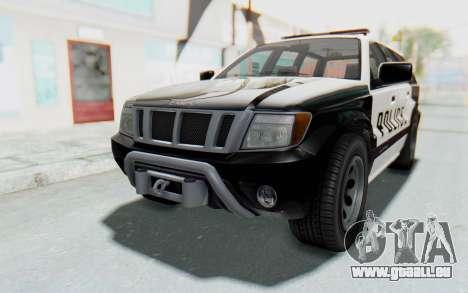 Canis Seminole Police Car für GTA San Andreas