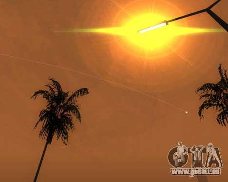Réaliste ENB pour les moyennes PC V. 1 pour GTA San Andreas sixième écran