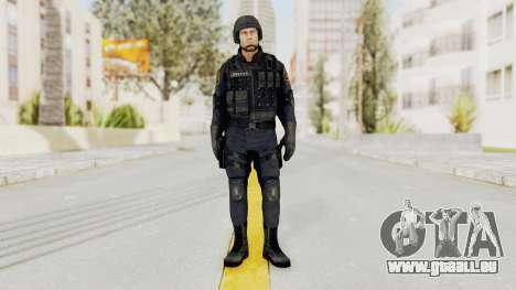 Dead Rising 2 Chucky Swat Outfit für GTA San Andreas zweiten Screenshot