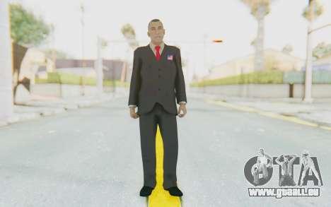 Barack Obama Skin pour GTA San Andreas deuxième écran