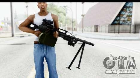 Kalashnikov PK (PKM) pour GTA San Andreas