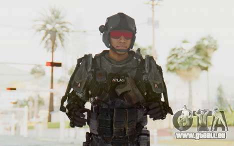 CoD Advanced Warfare ATLAS Soldier 2 für GTA San Andreas