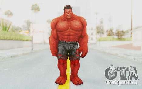 Marvel Future Fight - Red Hulk pour GTA San Andreas deuxième écran