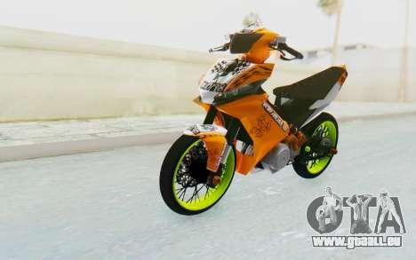 Yamaha Jupiter MX 135 Roadrace für GTA San Andreas