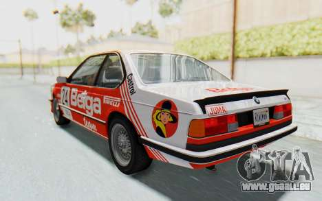BMW M635 CSi (E24) 1984 HQLM PJ2 pour GTA San Andreas salon