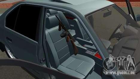 BMW 535i Gang pour GTA San Andreas vue de droite